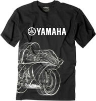 Factory Effex Licensed Yamaha R1 T-Shirt Black Mens All Sizes