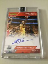 2017 17/18 Panini Instant Donovan Mitchell Orange Auto #1/5 All Rookie Team Jazz