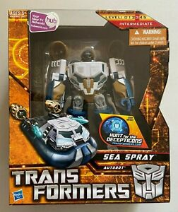 Transformers Hunt For the Decepticons Autobot Sea Spray Voyager Class NIB