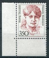 Bund Nr. 1393 postfrisch Eckrand Ecke 3 Frauen 1988 ungefaltet MNH