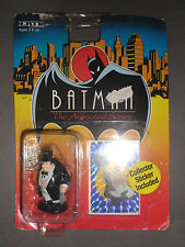 BATMAN The Animated Series THE PENGUIN Die Cast Metal Figure ERTL - On Card