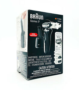 Braun Electric Razor for Men Series 7 W/ 360 Flex Head Electric Shaver - 7075cc