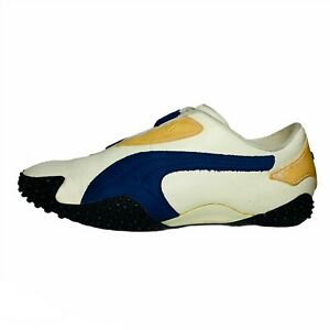 PUMA Mostro Original OG Men's Leather Suede Casual Shoes White Blue Size 10M