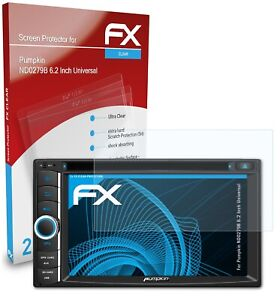 atFoliX 2x Screen Protector for Pumpkin ND0279B 6.2 Inch Universal clear