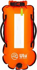 Sac de Natation Nage - Dry Bag ULU Open Water Safety Swim Guardian Orange Fluo