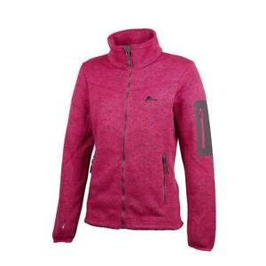 Ande Sirio Fleece maglia con pile donna zip intera trekking camminata outdoor