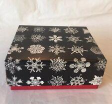 New ListingSaks Fifth Avenue Designer Wilson Bentley Snowflake - Small Gift Box