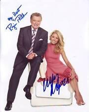 REGIS PHILBIN & KELLY RIPA signed autographed photo