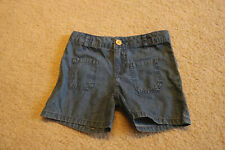 Carter's Girls Blue Playwear Tier Separates Jean Denim Shorts 100% Cotton Size 6