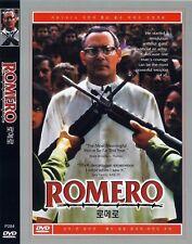 Romero (1989) Raul Julia / Richard Jordan DVD NEW *FAST SHIPPING*