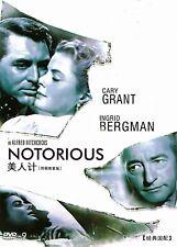 Notorious DVD 1946 Cary Grant Ingrid Bergman