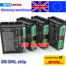 4PCS DM556D Digital Stepper Motor Driver 5.6A 24-50V DC For CNC Router Machine
