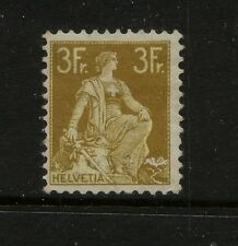 Switzerland   145   mint   3 fr    catalog  $275.00         MS1228
