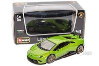 Lamborghini Huracan Performante green, Bburago 18-30397, scale 1:43 toy car gift