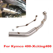 Motorcycle Exhaust Muffler Escape Connector Link Pipe for Kymco 400-Xciting400