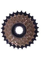 7 velocità ruota libera indice 14-28 blocco a vite su cassette MTB, RACER Bronzo/Nero