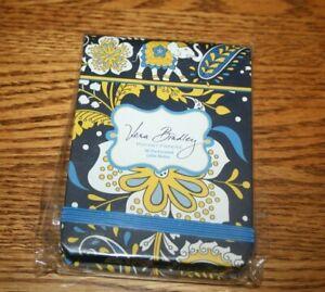 Vera Bradley ELLIE BLUE Pocket Papers NOTEPAD  4 TOTE Backpack RARE NEW