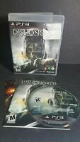 DISHONORED PLAYSTATION 3 PS3 COMPLETE IN BOX W/ MANUAL
