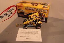 2004 Donny Schatz Parker Store 1/24 Action Diecast Sprint Autographed