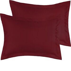 Mellanni Pillow Shams Set of 2, Microfiber Decorative Pillow Cases/Covers