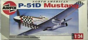 Airfix 1:24 North American P-51D Mustang MSN: 14001