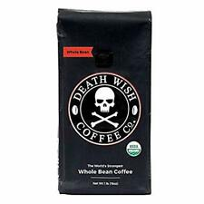 Deathwish Whole Bean Strongest Coffee 1lb Exp 10/2020  Death Wish Organic