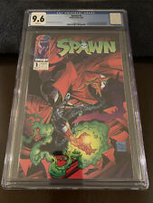 Spawn #1 Graded CGC 9.6,  1st App Spawn White Pages Todd McFarland Art. Nice!