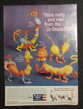 "1959 DR SEUSS ZOO by Revell Model Kit 10.5x14"" Print Ad FN 6.0"