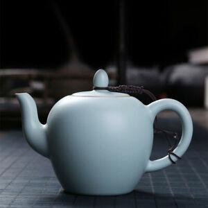 Luxury Ru Kiln Ceramic Teapot Creative Teapot Tea Serving Teapot Coffee Pot