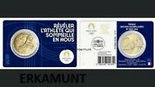 5x2 euro Frankreich 2021 in 5 verschiedene Original Coincards : OS Paris 2024