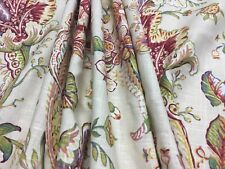 """3.3 yards  x 54"""" Duralee Clarence Floral Home Decorator Drapery Fabric"""