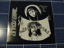 "UNHOLY GRAVE / DEPRESSOR 7"" grind Agathocles My Minds Mine Dystopia"