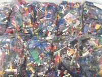 Lego 1kg WASHED Bundle Joblot 1000g Bricks,Parts,Pieces