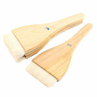 4pcs Soft Bristle Wooden Handle Oil Paint Painter Brush 21cm x 7.5cm