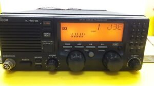 Icom IC-M710 MF/HF Marine Transceiver With EM-101 Dynamic Microphone Marine Stor