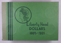 Meghrig Used Empty Coin book Liberty Head Dollars 1895-1921