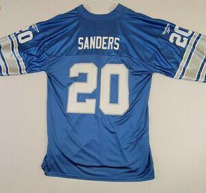 Reebok Jersey Vintage Collection BARRY SANDERS #30 Detroit Lions Throwback Sz L