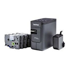 Brother P-Touch P750WFP Etikettendrucker Bundle NEU