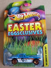 2012 Hot Wheels Easter Eggsclusives 64 CORVETTE STING RAY Light Blue White