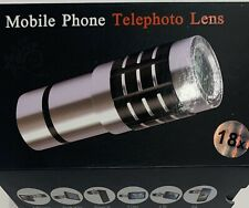 18x Telescope Camera Zoom Optical Cellphone Telephoto Lens For iphone samsung EK