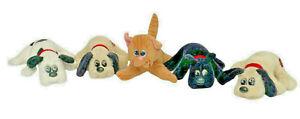Vintage Tonka 4 Pound Puppies & 1 Pound Pur-r-ies - EUC