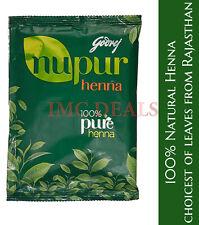 GODREJ Nupur Henna Mehndi Mehandi Herbal Hair Color Colour Hair Dye Powder