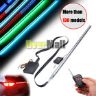 56cm 7 Color 48 LED RGB Flash Car Strobe Knight Rider Light Strip Kit Waterproof