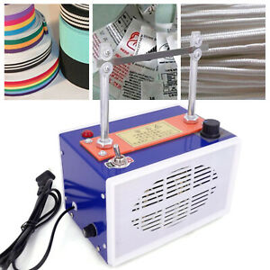 Rope Cutter Hot Knife Heating Machine Stepless Adjustable Temperature 100-200w