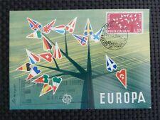 Italia MK 1962 EUROPA CEPT maximum carta carte MAXIMUM CARD MC cm c3453