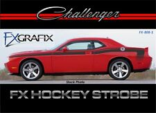 2008 - 2015 Dodge Challenger Hockey Strobe Body Stripe Kit 3M Quality Stripes