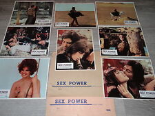 jane birkin SEX POWER   ! henry chapier le jeu 16 photos cinema vintage 1970