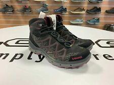 LOWA 2017 Aerox GTX QC Black/Berry Women's Walking Shoes UK 5