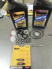 MEYER SNOW PLOW PUMP E46 E46H E47 E47H E57 E57H SEAL KIT W/ FILTERS AND OIL