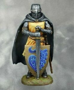 Medieval Knight Teutonic  Teutonic Tin PAINTED Soldiers 54mm 1/32